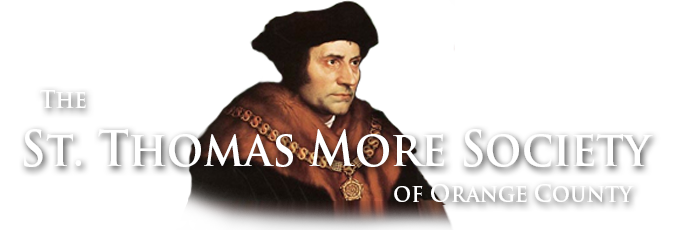 St. Thomas More Society of Orange County